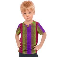 Colors Of A Rainbow Kids  Sports Tee
