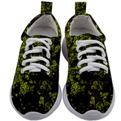 Nature Dark Camo Print Kids Athletic Shoes