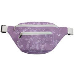 Lavender And White Flowers Fanny Pack