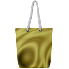 Golden Wave 2 Full Print Rope Handle Tote (small)