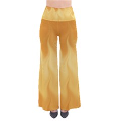 Gold Flame Ombre So Vintage Palazzo Pants by SpinnyChairDesigns