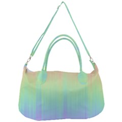 Pastel Rainbow Gradient Removal Strap Handbag by SpinnyChairDesigns