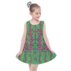 Lianas Of Sakura Branches In Contemplative Freedom Kids  Summer Dress