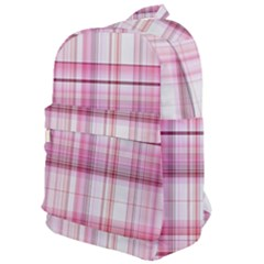 Pink Madras Plaid Classic Backpack
