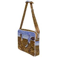 Patagonia Landscape Scene, Santa Cruz - Argentina Cross Body Office Bag by dflcprintsclothing