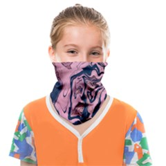 Pink-and-dark-color-abstract-painting | Face Covering Bandana (kids) by Studio20A