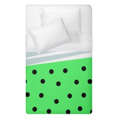 Dots And Lines, Mixed Shapes Pattern, Colorful Abstract Design Duvet Cover (single Size) by Casemiro