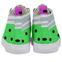 Dots and lines, mixed shapes pattern, colorful abstract design Kids  Mid-Top Canvas Sneakers View4