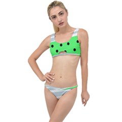 Dots And Lines, Mixed Shapes Pattern, Colorful Abstract Design The Little Details Bikini Set by Casemiro