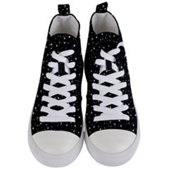 Witchy Wonder Women s Mid-top Canvas Sneakers