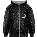 Witchy Wonder Kids  Zipper Hoodie Without Drawstring View1