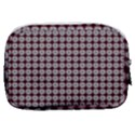 Red Halloween Spider Tile Pattern Make Up Pouch (Small) View2