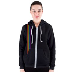Conjuring Rainbows Women s Zipper Hoodie by wearablemagic