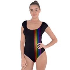 Conjuring Rainbows Short Sleeve Leotard  by wearablemagic
