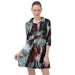 Flamelet Mini Skater Shirt Dress by Sparkle