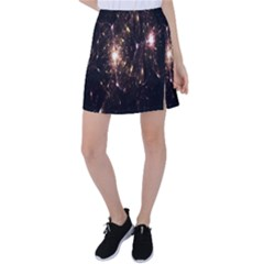 Glowing Sparks Tennis Skirt by Sparkle