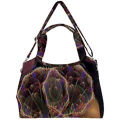 Fractal Geometry Double Compartment Shoulder Bag by Sparkle