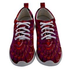 Chakra Flower Athletic Shoes by Sparkle