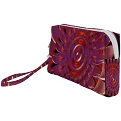 Chakra Flower Wristlet Pouch Bag (small) by Sparkle