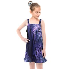 Fractal Web Kids  Overall Dress by Sparkle