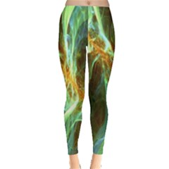 Abstract Illusion Leggings  by Sparkle