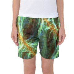 Abstract Illusion Women s Basketball Shorts by Sparkle