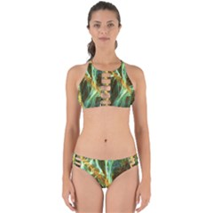 Abstract Illusion Perfectly Cut Out Bikini Set by Sparkle