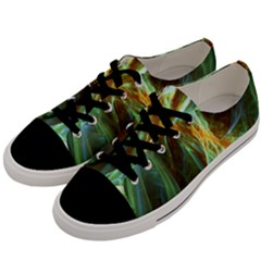 Abstract Illusion Men s Low Top Canvas Sneakers by Sparkle