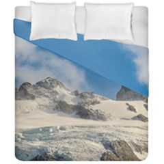 Snowy Andes Mountains, Patagonia - Argentina Duvet Cover Double Side (california King Size) by dflcprintsclothing