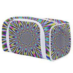 Psychedelic Wormhole Toiletries Pouch by Filthyphil