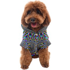 Psychedelic Wormhole Dog Coat by Filthyphil