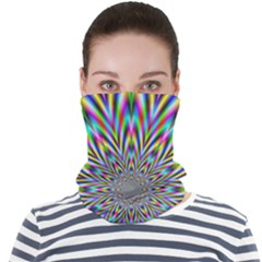 Psychedelic Wormhole Face Seamless Bandana (adult)