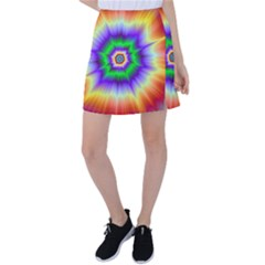 Psychedelic Trance Tennis Skirt by Filthyphil