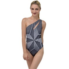 Star Grey To One Side Swimsuit
