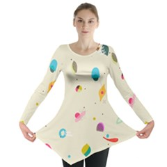 Dots, Spots, And Whatnot Long Sleeve Tunic