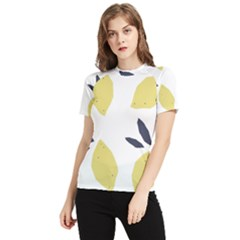 Laser Lemons Women s Short Sleeve Rash Guard