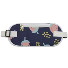 Strawberry Fields Rounded Waist Pouch
