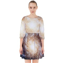 Galaxy Space Smock Dress