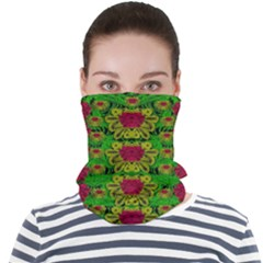 Rainbow Forest The Home Of The Metal Peacocks Face Seamless Bandana (adult)