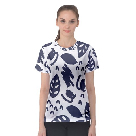 Orchard Leaves Women s Sport Mesh Tee by andStretch