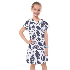 Orchard Leaves Kids  Drop Waist Dress by andStretch