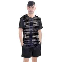 Mo 5 6 Men s Mesh Tee And Shorts Set