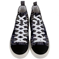 Mo 5 9 Men s Mid-top Canvas Sneakers