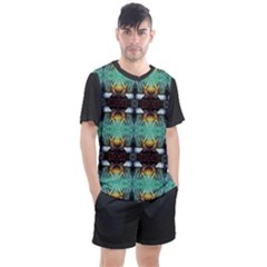 Mo 110 13 Men s Mesh Tee And Shorts Set