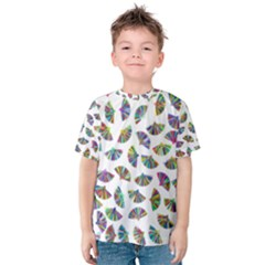 Folding Fan Background Wallpaper Kids  Cotton Tee