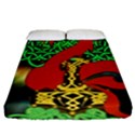 Ragnarok Dragon Monster Fitted Sheet (California King Size) View1