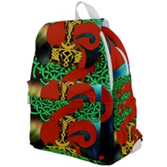Ragnarok Dragon Monster Top Flap Backpack by HermanTelo
