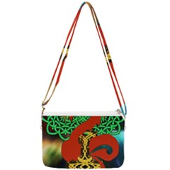Ragnarok Dragon Monster Double Gusset Crossbody Bag by HermanTelo