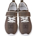 Brown Alligator Leather Skin Men s Velcro Strap Shoes View1