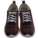 Brown Alligator Leather Skin Mens Athletic Shoes View1